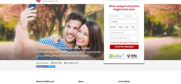 Most popular Asian dating service (idateasia.com)