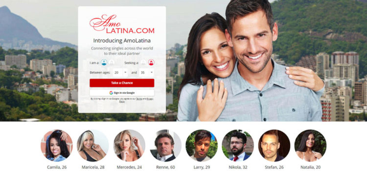Number one Latin dating site (amolatina.com)